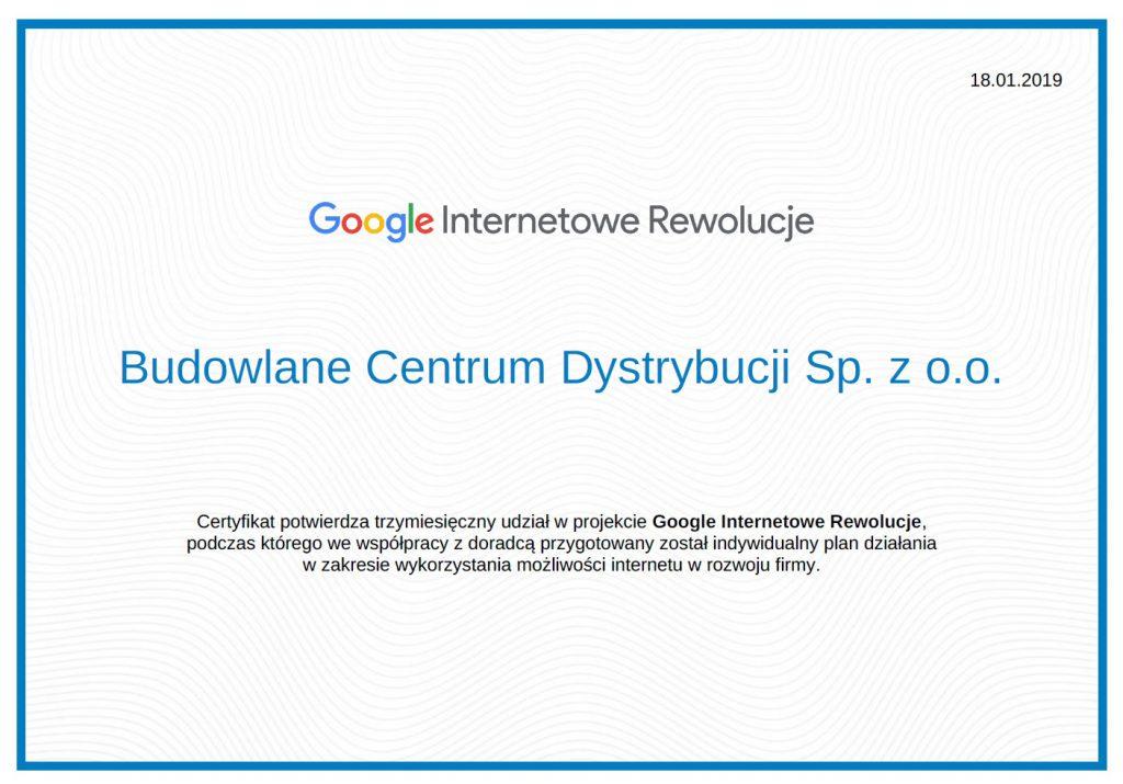 Google Internetowe Rewolucje w BCD
