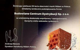 Roben 25-lecie w Polsce